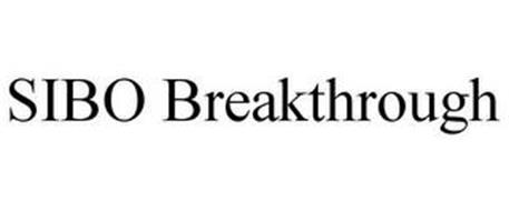 SIBO BREAKTHROUGH