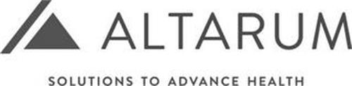 ALTARUM SOLUTIONS TO ADVANCE HEALTH