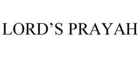 LORD'S PRAYAH
