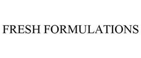 FRESH FORMULATIONS