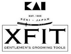 KAI EST. 1908 SEKI - JAPAN XFIT GENTLEMEN'S GROOMING TOOLS