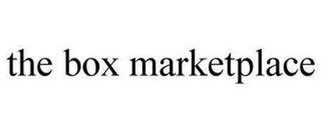 THE BOX MARKETPLACE