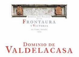 BODEGA DEL PALACIO DE LOS FRONTAURA Y VICTORIA EN TORO, ESPANA 1574 DOMINIO DE VALDELACASA