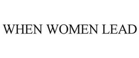 WHEN WOMEN LEAD
