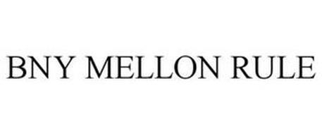 BNY MELLON RULE
