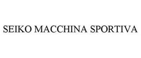 SEIKO MACCHINA SPORTIVA