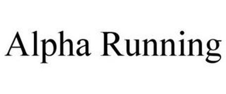 ALPHA RUNNING