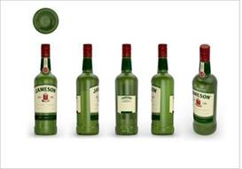 JOHN JAMESON & SON DISTILLED MATURED & BOTTLED IN IRELAND JOHN JAMESON & SON LIMITED JJ&S JAMESON ESTD 1780 SINE METU JOHN JAMESON & SON 1780 JOHN JAMESON & SON JAMESON LEARN ABOUT OUR TASTE AND STORY AT JAMESONWHISKEY.COM JOHN JAMESON & SON LIMITED JJ&S 750 ML 15MM