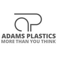 AP ADAMS PLASTICS MORE THAN YOU THINK