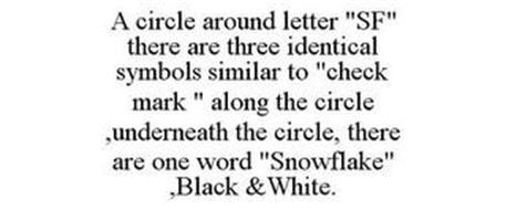 A CIRCLE AROUND LETTER