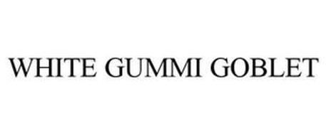 WHITE GUMMI GOBLET