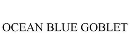 OCEAN BLUE GOBLET