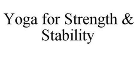 YOGA FOR STRENGTH & STABILITY