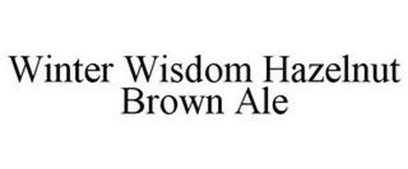 WINTER WISDOM HAZELNUT BROWN ALE