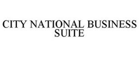 CITY NATIONAL BUSINESS SUITE