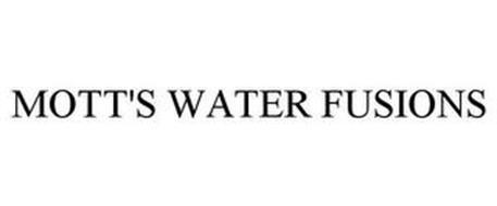 MOTT'S WATER FUSIONS