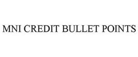 MNI CREDIT BULLET POINTS