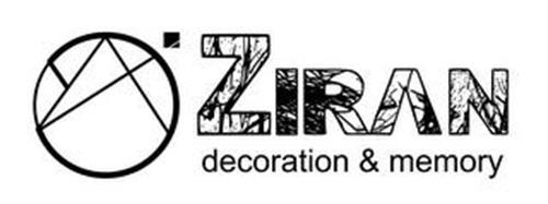 ZIRAN DECORATION & MEMORY