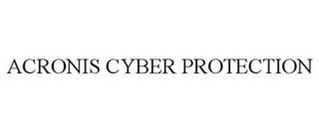 ACRONIS CYBER PROTECTION