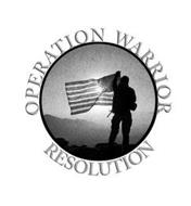 OPERATION WARRIOR RESOLUTION
