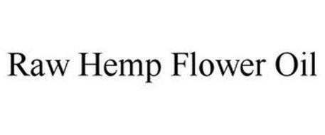 RAW HEMP FLOWER OIL