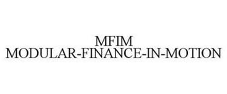 MFIM MODULAR-FINANCE-IN-MOTION