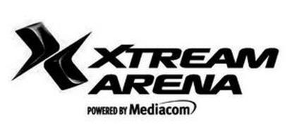 X XTREAM ARENA POWERED BY MEDIACOM