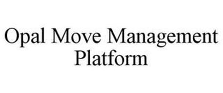OPAL MOVE MANAGEMENT PLATFORM