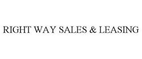 RIGHT WAY SALES & LEASING
