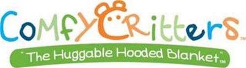 COMFY CRITTERS THE HUGGABLE HOODED BLANKET