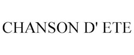 CHANSON D' ETE