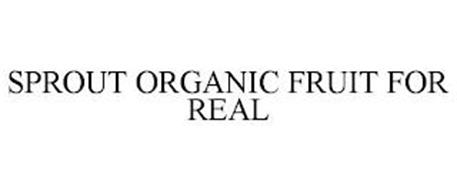 SPROUT ORGANIC FRUIT FOR REAL
