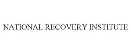 NATIONAL RECOVERY INSTITUTE