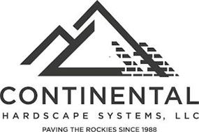 CONTINENTAL HARDSCAPE SYSTEMS, LLC PAVING THE ROCKIES SINCE 1988