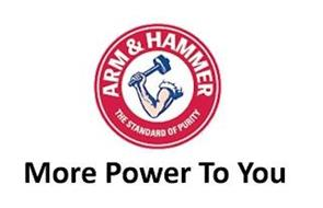 ARM & HAMMER THE STANDARD OF PURITY MORE POWER TO YOU