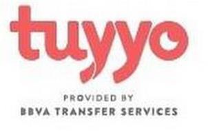 TUYYO PROVIDED BY BBVA TRANSFER SERVICES
