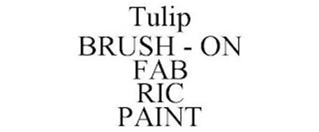 TULIP BRUSH - ON FAB RIC PAINT