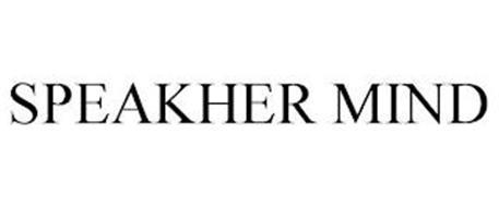 SPEAKHER MIND