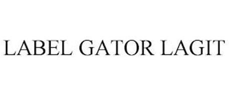 LABEL GATOR LAGIT