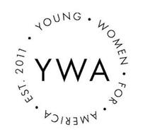 YWA YOUNG WOMEN FOR AMERICA EST. 2011