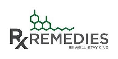 RX REMEDIES BE WELL· STAY KIND