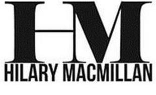 HM HILARY MACMILLAN