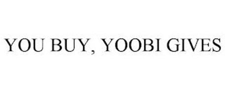 YOU BUY, YOOBI GIVES