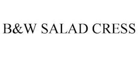 B&W SALAD CRESS