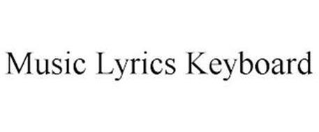 MUSIC LYRICS KEYBOARD