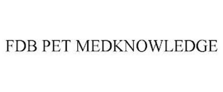 FDB PET MEDKNOWLEDGE