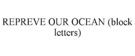 REPREVE OUR OCEAN (BLOCK LETTERS)