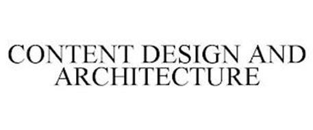 CONTENT DESIGN AND ARCHITECTURE