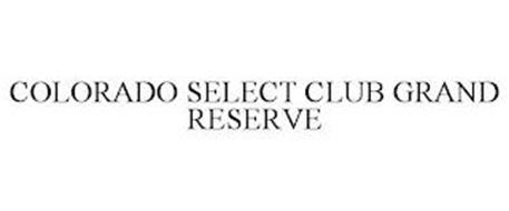 COLORADO SELECT CLUB GRAND RESERVE
