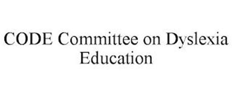 CODE COMMITTEE ON DYSLEXIA EDUCATION